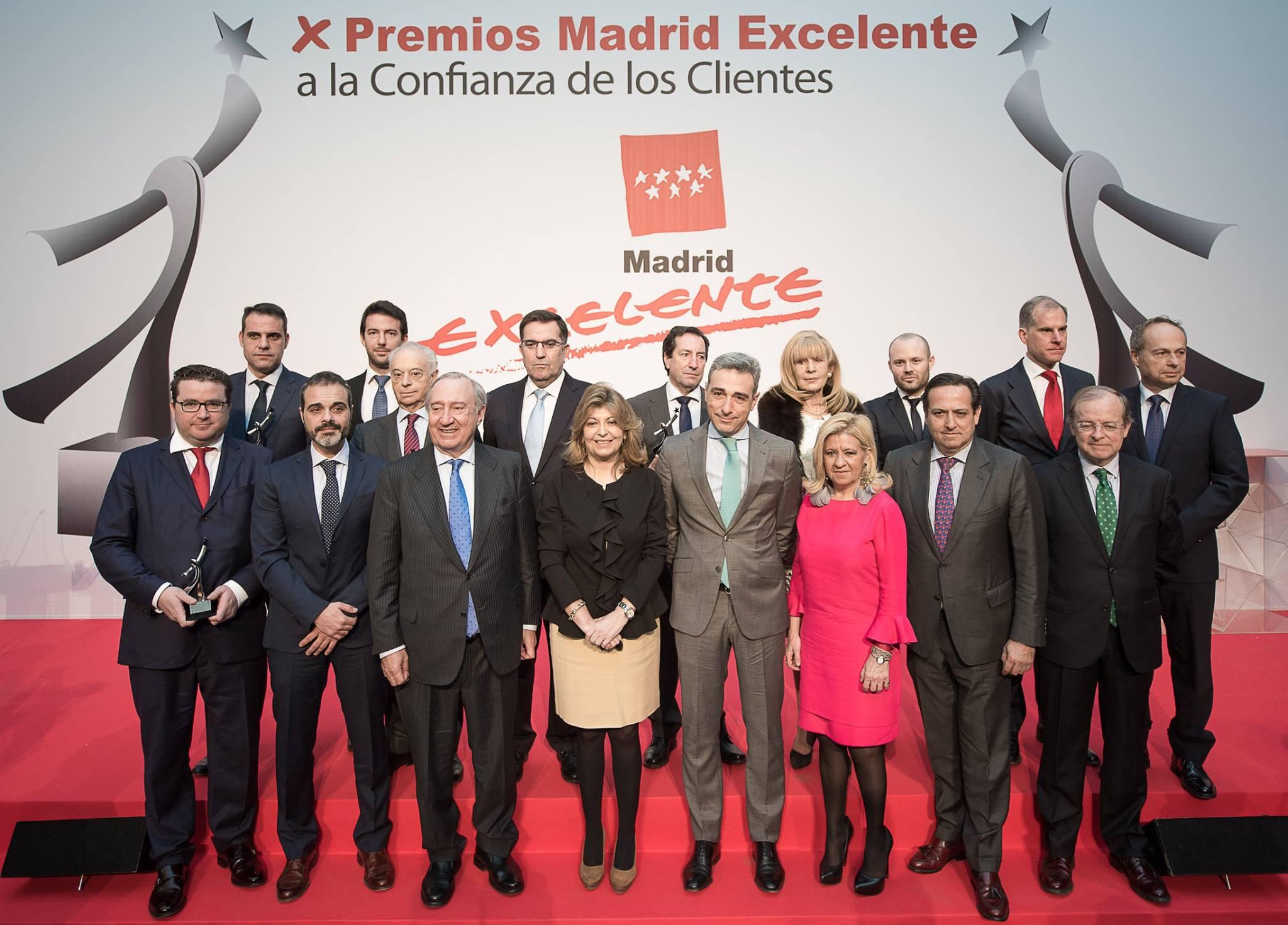 25/01/2017 – X Edición de los premios Madrid Excelente