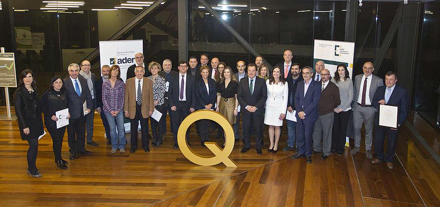 15/12/2016. El Gobierno riojano entrega los reconocimientos y Premios Excelencia en La Rioja a
