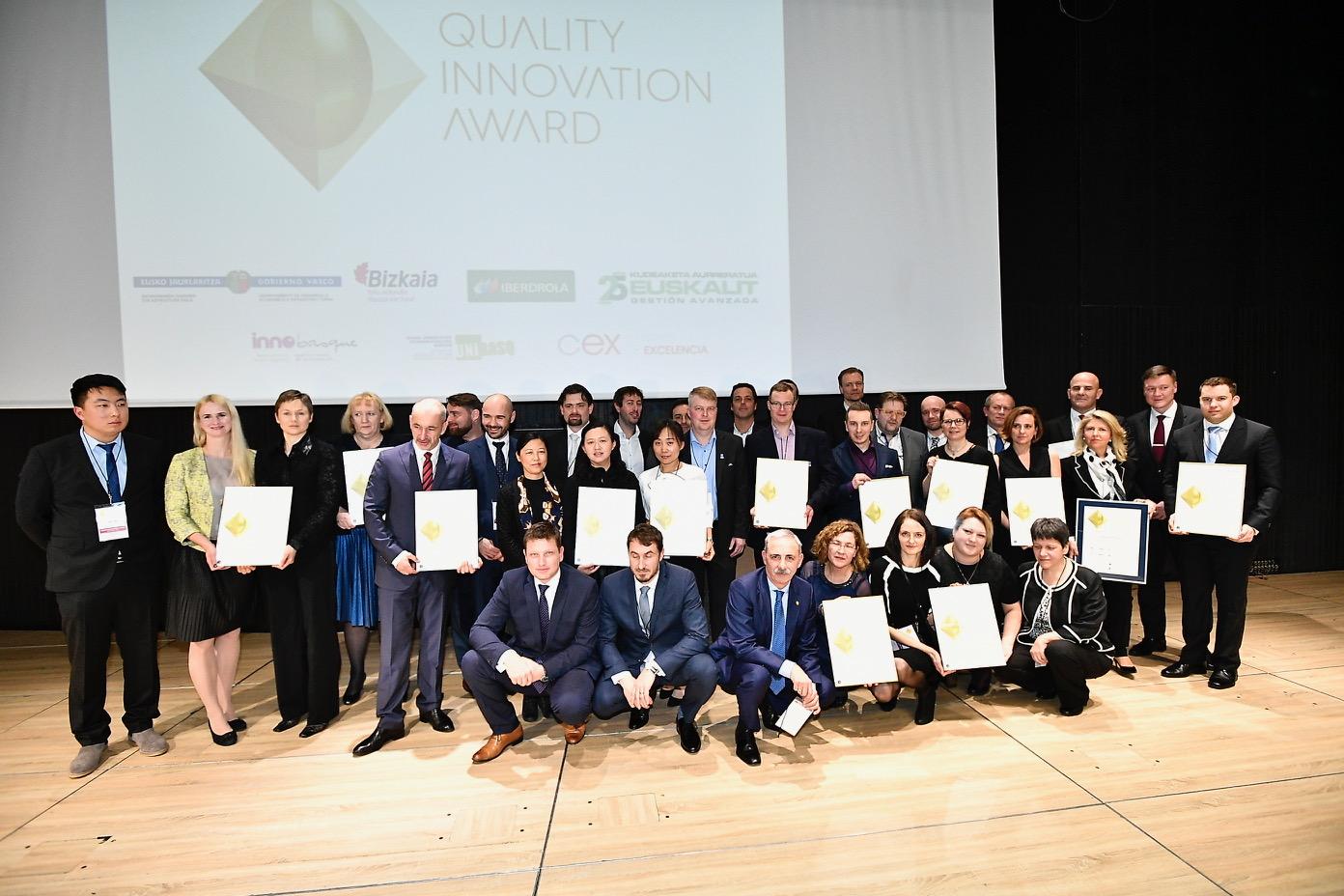 Cinco empresas españolas ganan los Quality Innovation Award al destacar sus innovaciones frente a las de 11 países