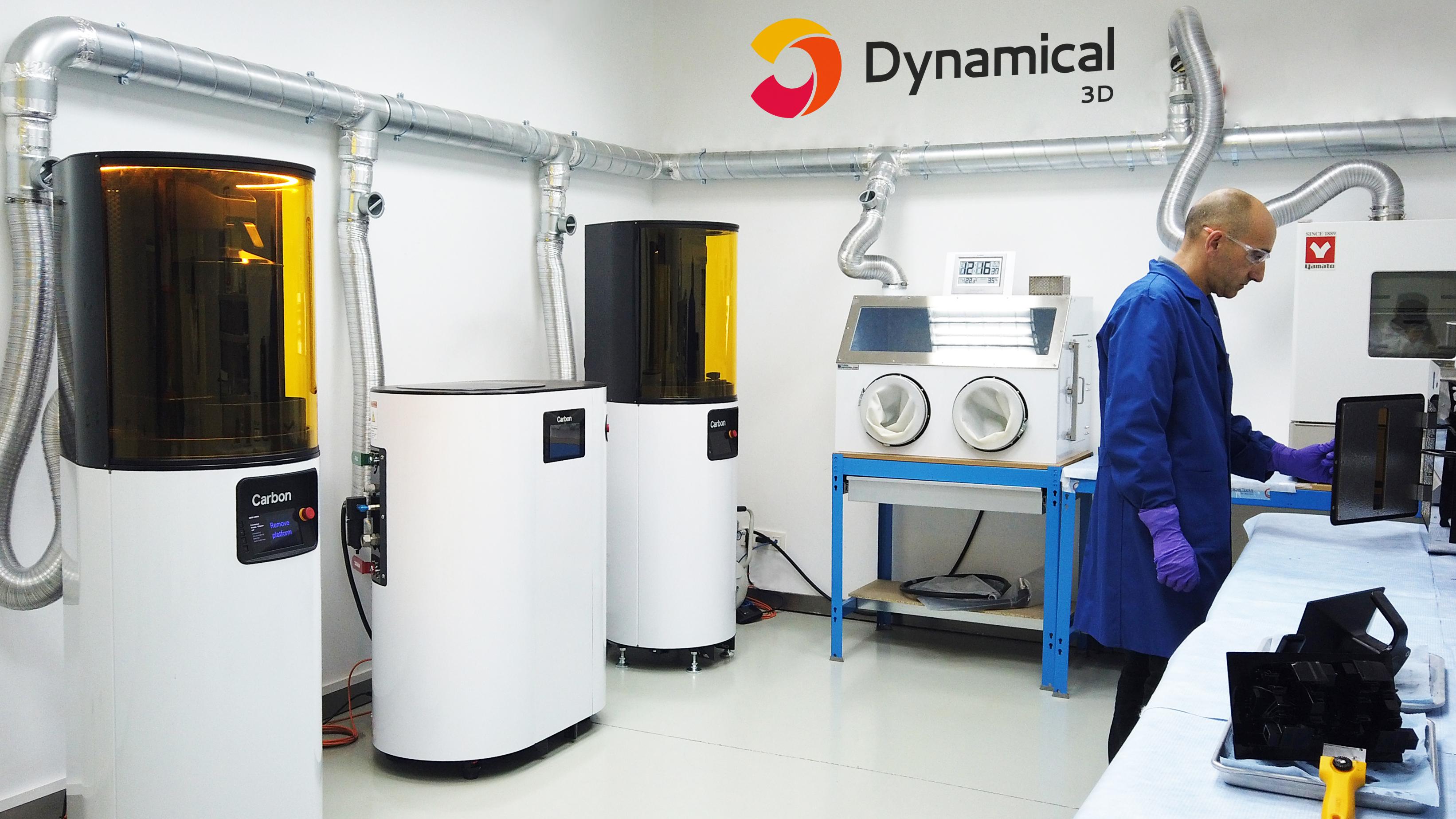 Premios QIA 2019. Finalista categoría Pyme. Dynamical 3D, Democratización de la Impresión 3D