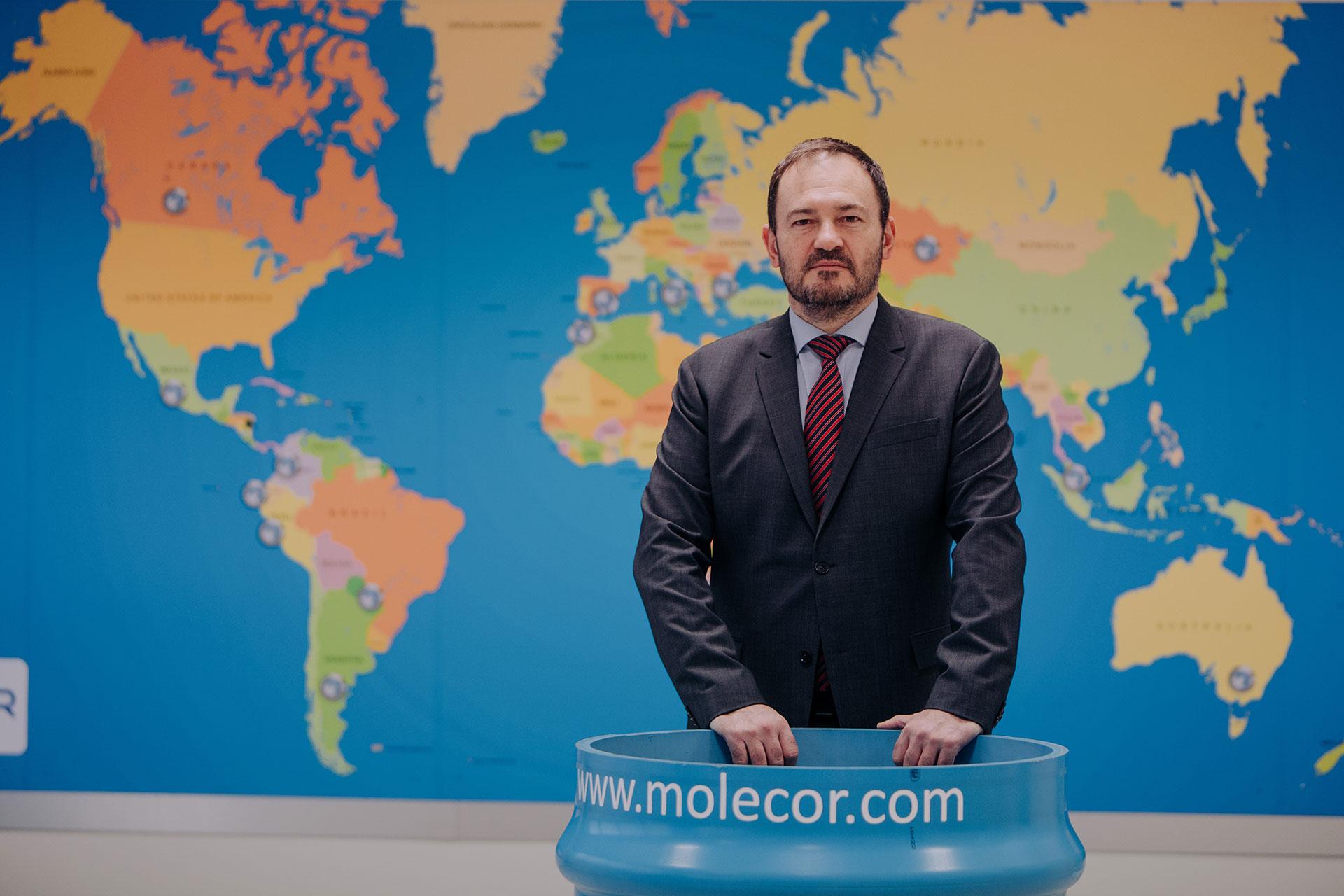 Premio QIA 2020. Ganador categoría Innovación Potencial: Molecor Tecnología.