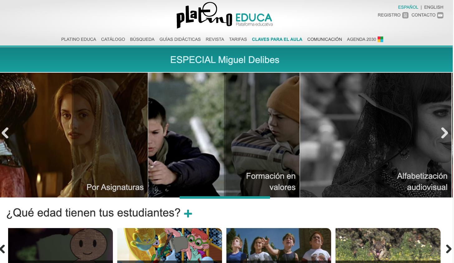 Premio QIA 2020. Ganador categoría Sector Educativo: Platino Educa – EGEDA