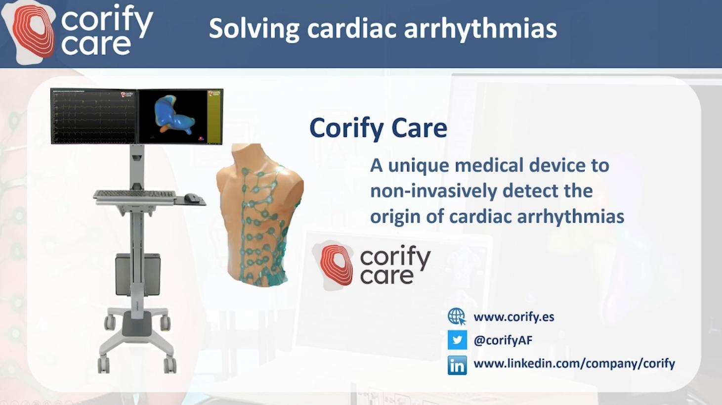 Premio QIA 2020. Ganador Innovación Sector Sanitario: Corify Care