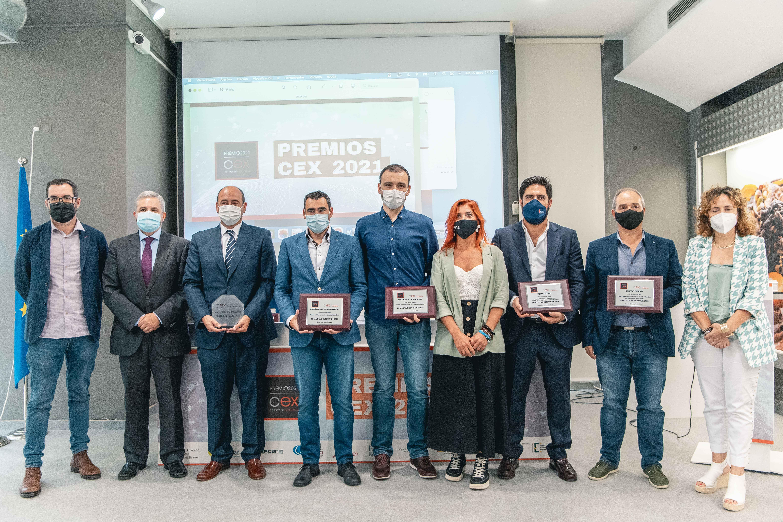 La empresa aragonesa Certest se alza con el Premio CEX 2021 en la gala organizada por el IVACE en València