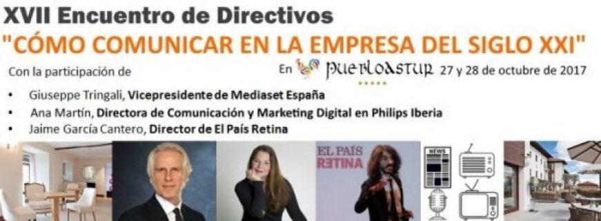 27/10/2017. XVII Encuentro de Fin de Semana para Directivos del Club de Calidad