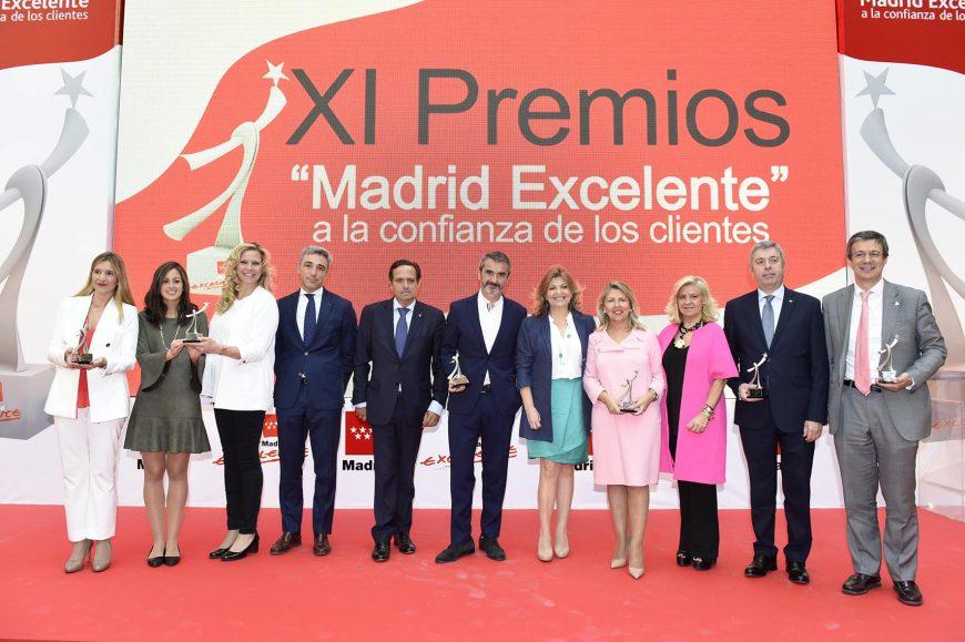 06/10/17. Madrid Excelente premia a las empresas que apuestan por la excelencia y la satisfacción de sus clientes