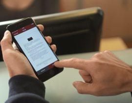 Premios QIA 2019. Finalista categoría Sector público. ICOGAM: Mobilegest: la ventanilla única de la Administración Pública en tu teléfono móvil