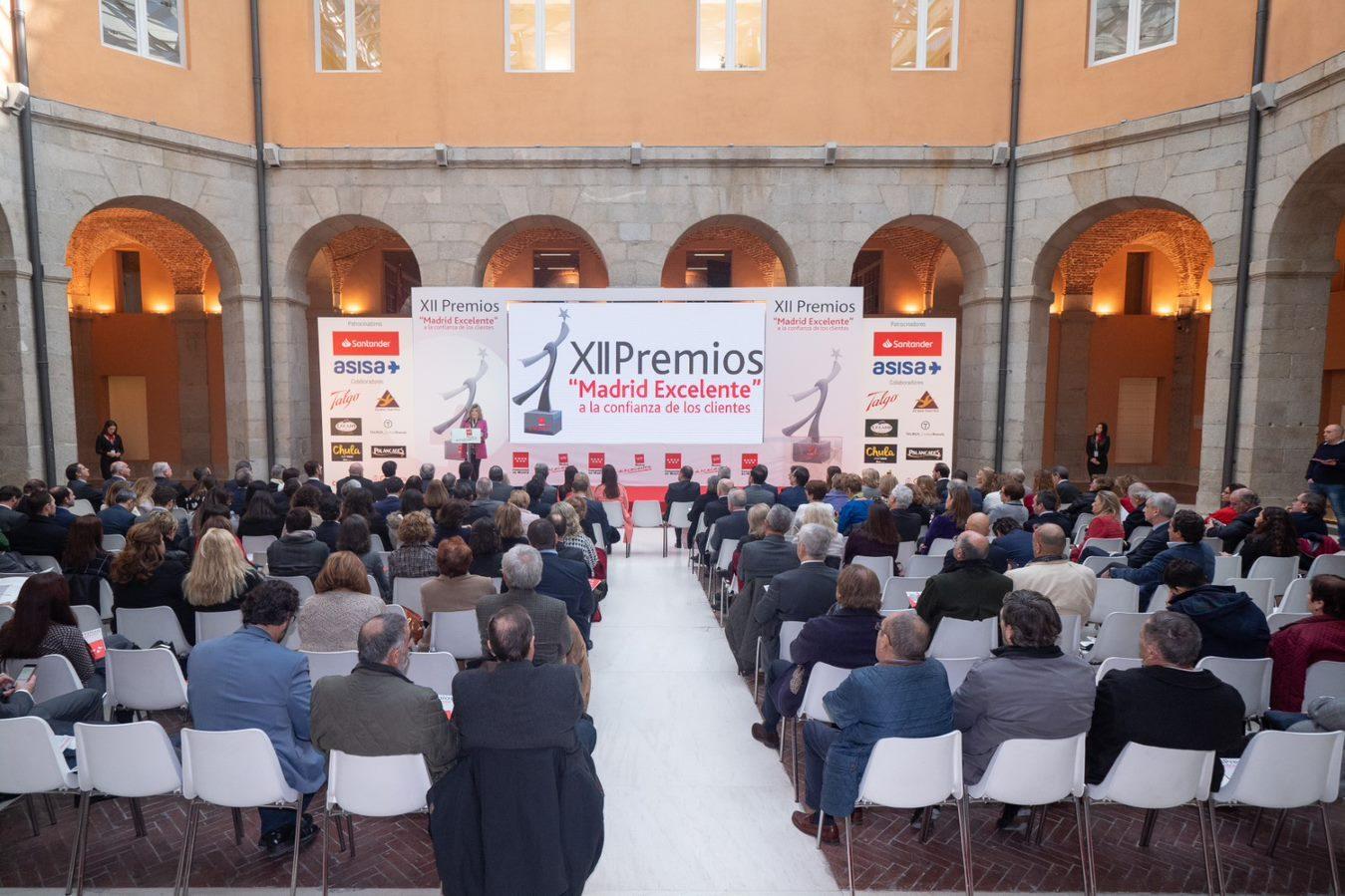17/01/2019 Convocatoria Premios Madrid Excelente a la Confianza de los clientes