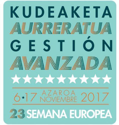 06/11/2017. Euskalit celebra la 23ª Semana Europea de la Gestión Avanzada
